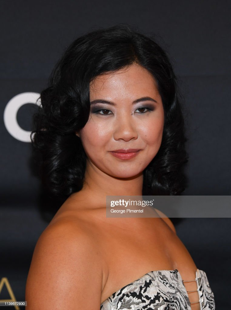 Photo Samantha Gala Canadian - Awards The Broadcast News Getty Attends Images Screen Wan 2019