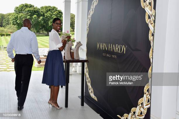 Samantha Ward wearing John Hardy attends A Maison de Mode Summer Fete hosted by Amanda Hearst at Private Residence on August 25 2018 in Water Mill...