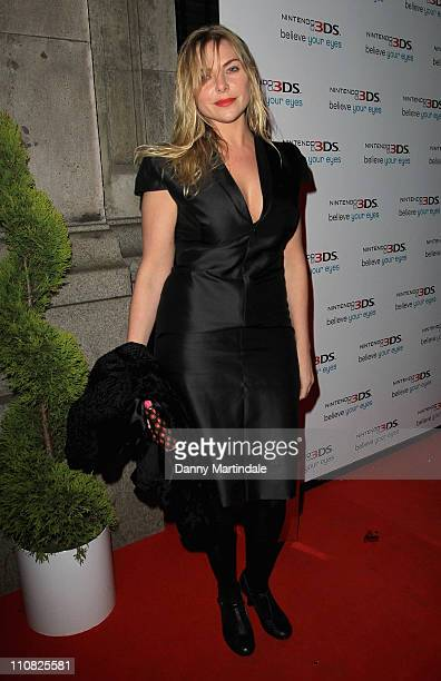 Samantha Womack aka Samantha Janus attends the launch of the Nintendo 3DS at Old Billingsgate Market on March 24 2011 in London England