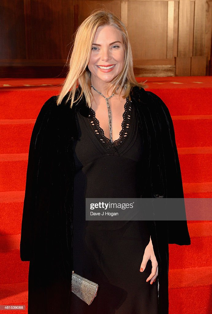 Samantha Womack attends the World Premiere of 'Kingsman: The Secret Service' at the Odeon Leicester Square on January 14, 2015 in London, England.