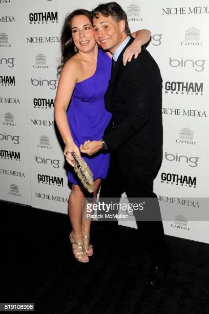 Samantha Yanks and Jason Binn attend ALICIA KEYS Hosts GOTHAM MAGAZINES Annual Gala Presented by BING at Capitale on March 15 2010 in New York City