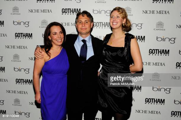 Samantha Yanks, Jason Binn and ? attend ALICIA KEYS Hosts GOTHAM MAGAZINES Annual Gala Presented by BING at Capitale on March 15, 2010 in New York...