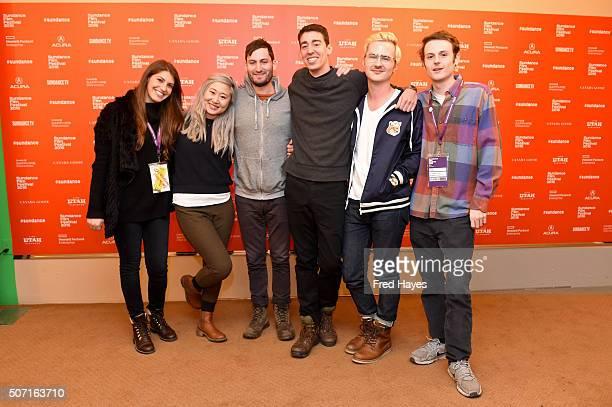 Samantha Zalaznick Taylor Shung Ben Cohen Bernardo Britto Brett Potter and James Benson attend the Jacqueline premiere during the 2016 Sundance Film...