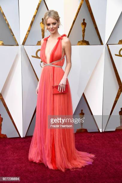 Samara Weaving attends the 90th Annual Academy Awards at Hollywood Highland Center on March 4 2018 in Hollywood California