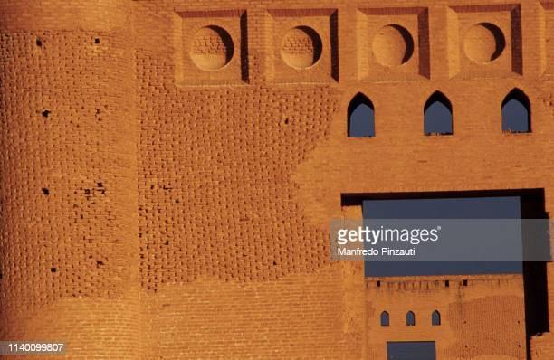 samarra , iraq .  malwiya minaret . - samara mosque iraq stock pictures, royalty-free photos & images