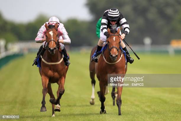 Samasana ridden by Martin Lane during the Dick's Final Fling Median Auction Maiden Fillies' Stakes