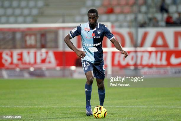 Samba Camara of Le Havre during the French Ligue 2 match between Nancy and Le Havre on September 14 2018 in Nancy France