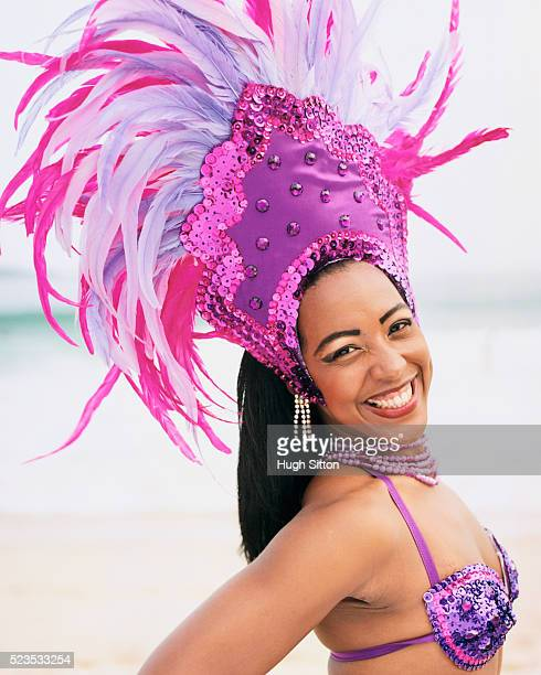 Samba Dancer at Beach