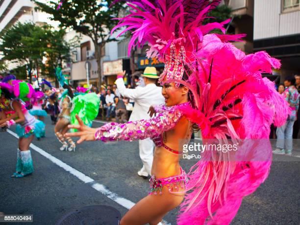 Samba Parade by G.R.E.S.Saúde in Noge at 'Noge Jazz de Bon'