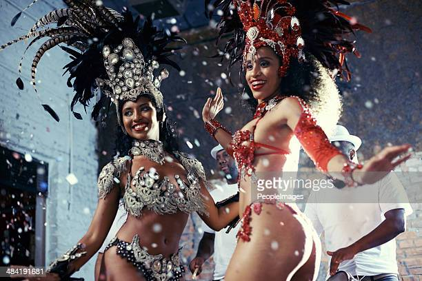 samba! - carnival stock photos and pictures