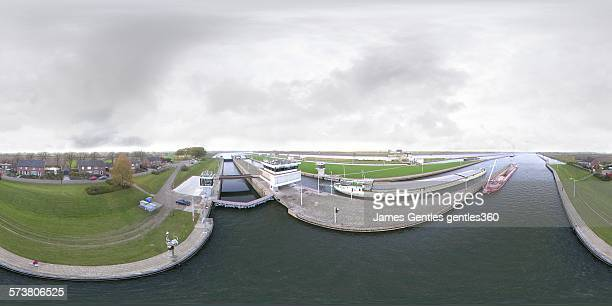 Sambeek Locks, River Maas, Netherlands