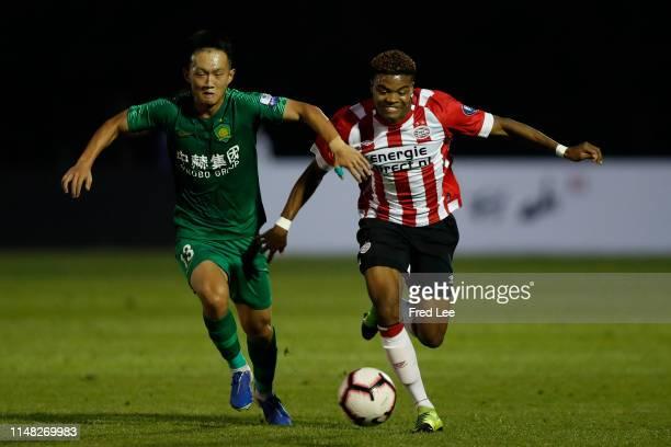 Sambo of PSV U17 in action during the 2019 Sinobo Guoan Cup U18 between Beijing Guoan and PSV at Sinobo Guoan Shunyi Training Base on June 5 2019 in...