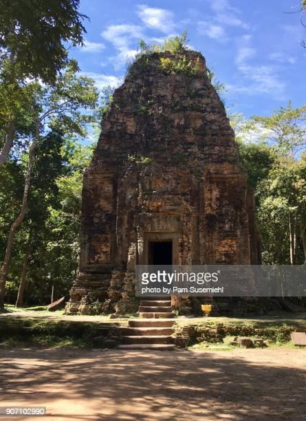 Sambor Prei Kuk Ruins, Brick Temple, Cambodia