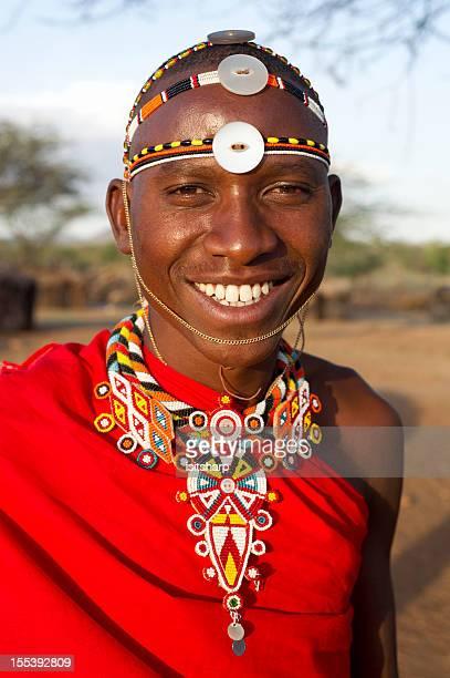 guerreiro samburu - colar - fotografias e filmes do acervo