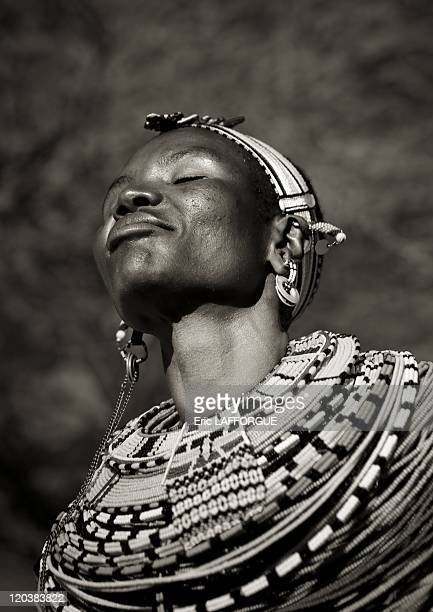 Samburu woman in Kenya The Samburu are closely related to the Maasai Like the Maasai they live in the central Rift Valley in Kenya where the climate...