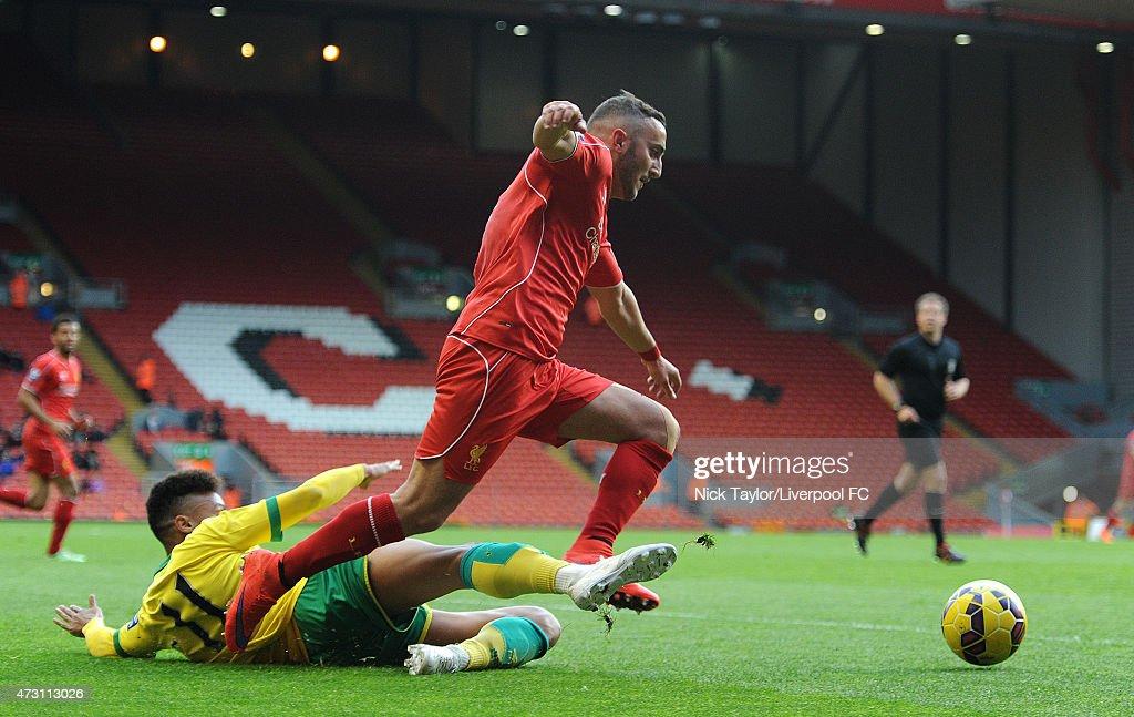 Liverpool v Norwich City: U21 Premier League : News Photo