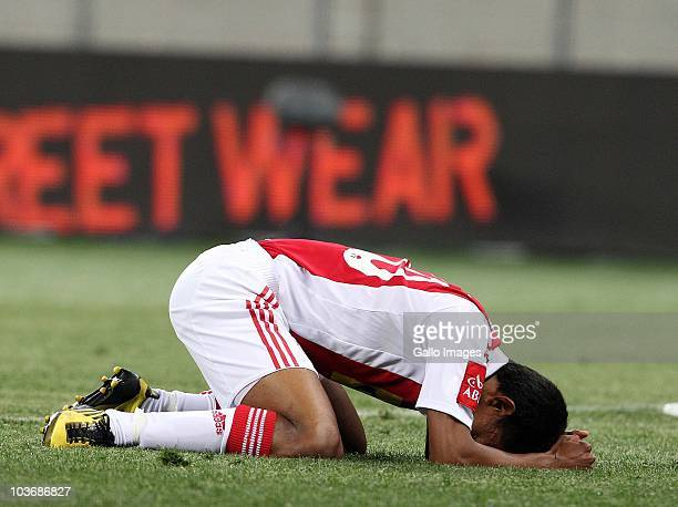 Sameehg Doutie from Ajax CT during the Absa Premiership match between Ajax Cape Town and Blomfontein Celtic at Cape Town Stadium on August 27: 2010...