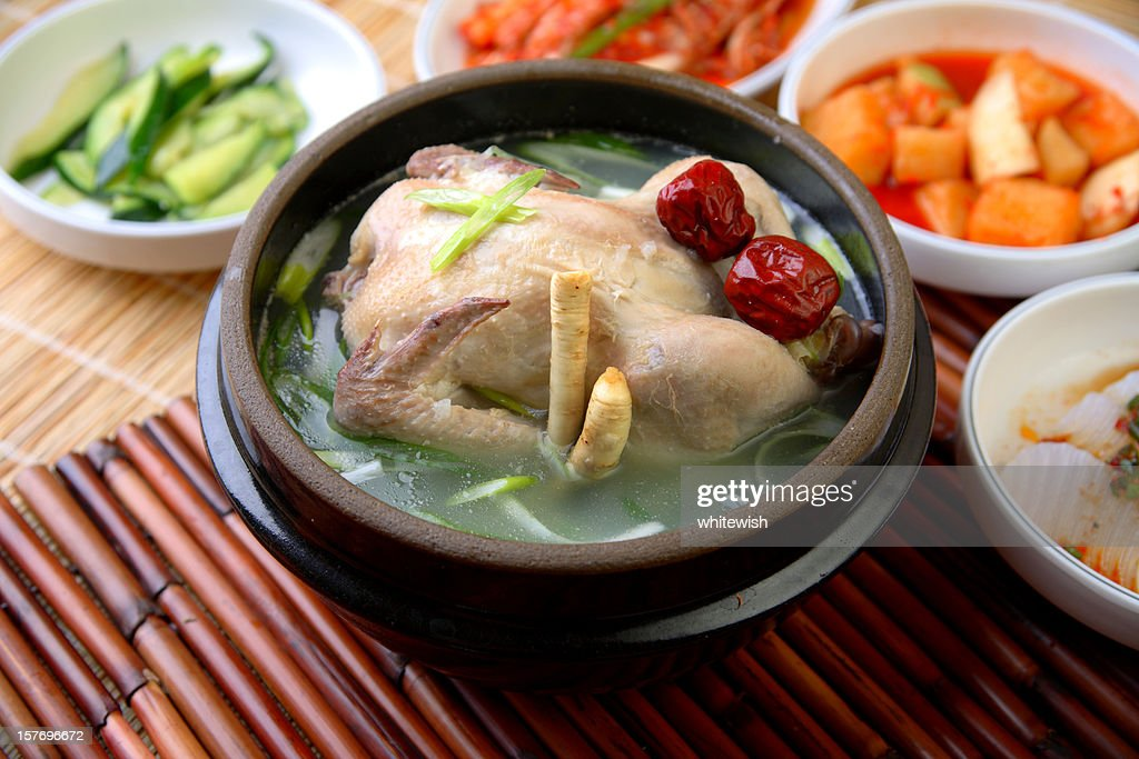 Samgyetang : Stock Photo