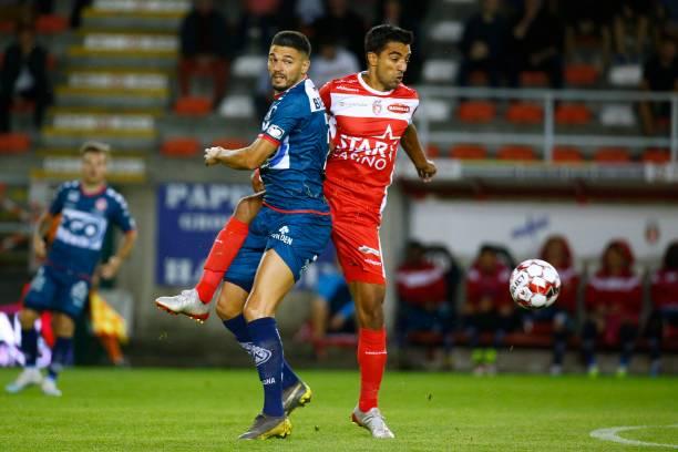 BEL: Royal Excel Mouscron Peruwelz v KV Kortrijk - Jupiler Pro League