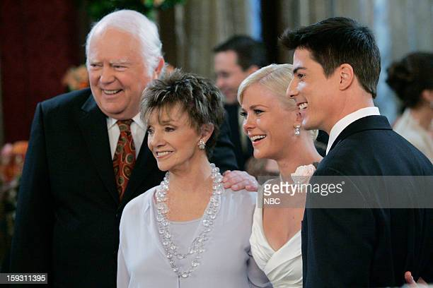 LIVES 'Sami Brady Lucas Roberts Wedding 2007' Pictured Frank Parker as Grandpa Shawn Brady Peggy McCay as Caroline Brady Alison Sweeney as Sami Brady...