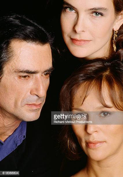 Sami Frey, Carole Bouquet and Christine Boisson star in C'Etait Hier at the Hebertot theatre in Paris. C'Etait Hier is a French version of Harold...