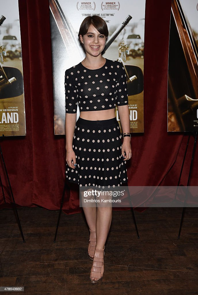 Sami Gayle attends Seth Meyers with the Orchard and the Cinema Society Host a Special Screening of 'Cartel Land' at Tribeca Grand Hotel on June 25, 2015 in New York City.