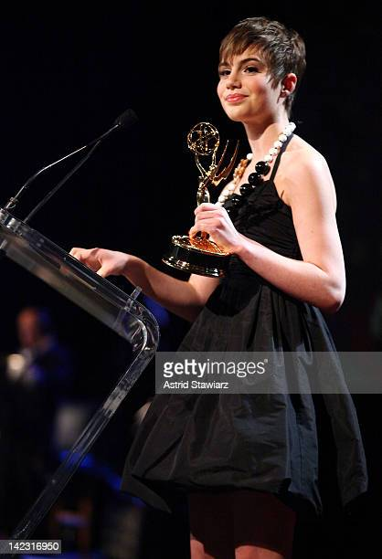 Sami Gayle attends the 55th Annual New York Emmy Awards gala at the Marriott Marquis Times Square on April 1 2012 in New York City