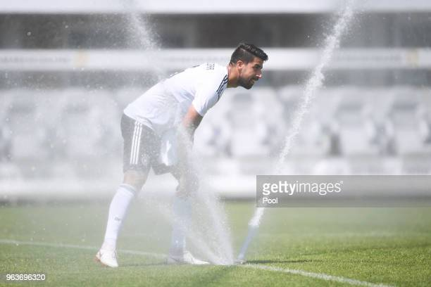 Sami Khedira of Germany during a Germany v Germany U20 test match at German national team training camp on May 30 2018 in Eppan Italy