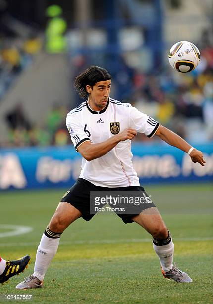 Sami Khedira of Germany during the 2010 FIFA World Cup South Africa Round of Sixteen match between Germany and England at Free State Stadium on June...