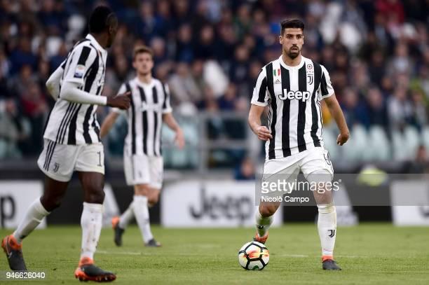 Sami Khedira of Juventus FC in action during the Serie A football match between Juventus FC and UC Sampdoria Juventus FC won 30 over UC Sampdoria