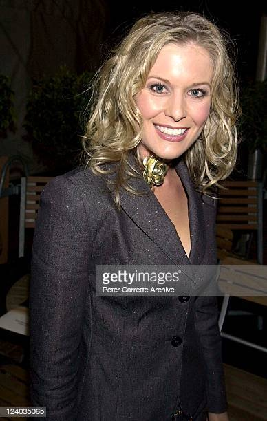 Sami Lukis arrives for the opening night of the Cirque du Soleil production of 'Alegria' under the Grand Chapiteau at Moore Park on May 29, 2001 in...