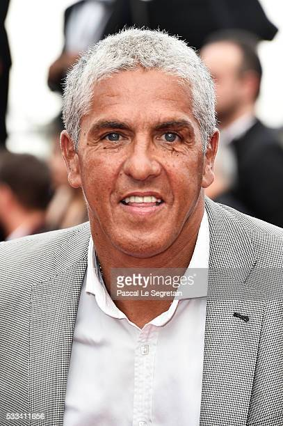 Sami Naceri attends the closing ceremony of the 69th annual Cannes Film Festival at the Palais des Festivals on May 22 2016 in Cannes France