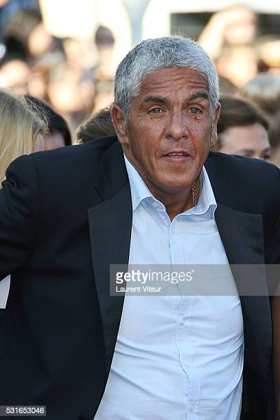 Sami Naceri attends the 'From The Land Of The Moon ' premiere during the 69th annual Cannes Film Festival at the Palais des Festivals on May 15 2016...
