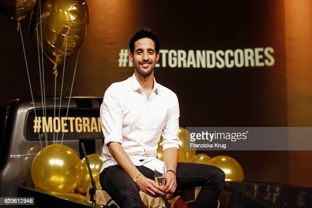 Sami Slimani attends Moet Chandon Grand Scores 2017 at Umspannwerk on February 2 2017 in Berlin Germany