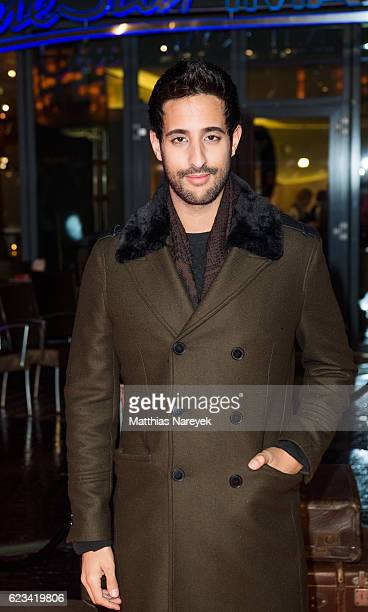 Sami Slimani attends the 'Fantastic Beasts and Where to Find Them' live event at CineStar on November 15 2016 in Berlin Germany