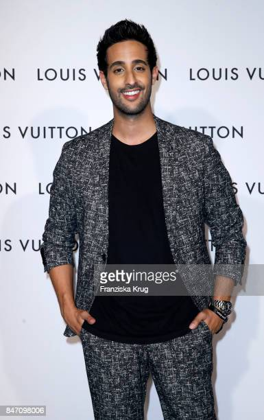 Sami Slimani attends the 'Louis Vuitton Time Capsule' Exhibition Opening at Franzoesisches Palais on September 14 2017 in Berlin Germany