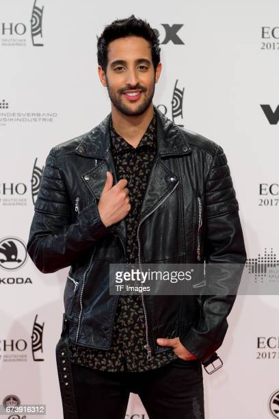 Sami Slimani on the red carpet during the ECHO German Music Award in Berlin Germany on April 06 2017