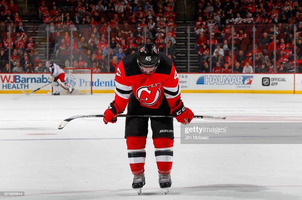 Columbus Blue Jackets v New Jersey Devils : News Photo