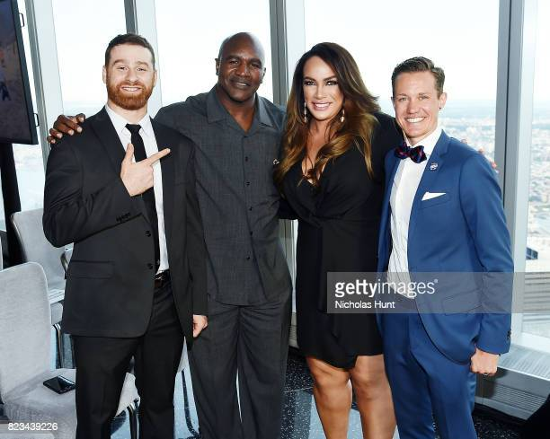 Sami Zayne Evander Holyfield Nia Jax and Chris Mosier attend the Beyond Sport Global Awards on July 26 2017 in New York City