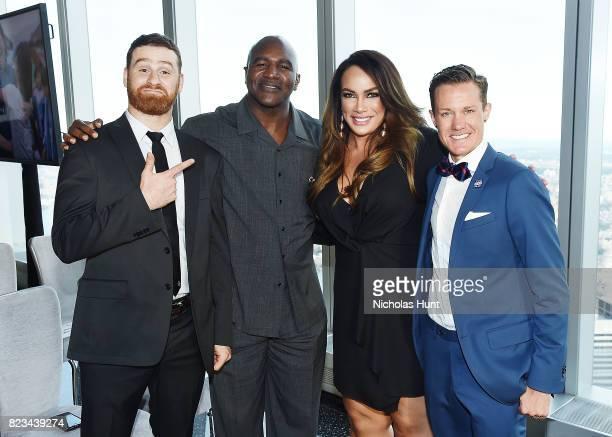 Sami Zayne Evander Holyfield Nia Jax and Chris Mosier attend the Beyond Sport Global Awards on July 26 2017 in New York City
