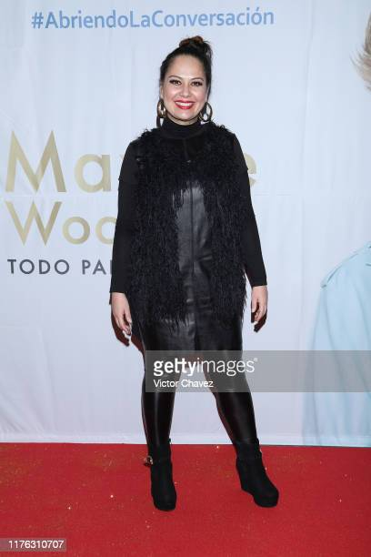 Samia attends the Todo Para La Mujer 30th Anniversary Red Carpet at Live Aqua hotel on October 16 2019 in Mexico City Mexico