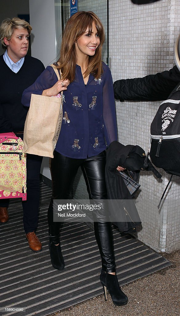 Dancing On Ice 2013 Stars Sighted At ITV Studios - January 3, 2013 : News Photo
