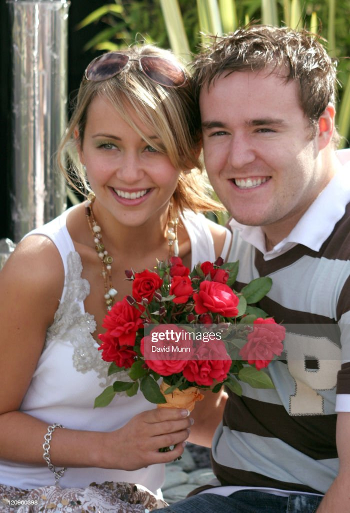 Samia Ghadie and Alan Halsall launch ITV 50th Anniversary Coronation Street Rose