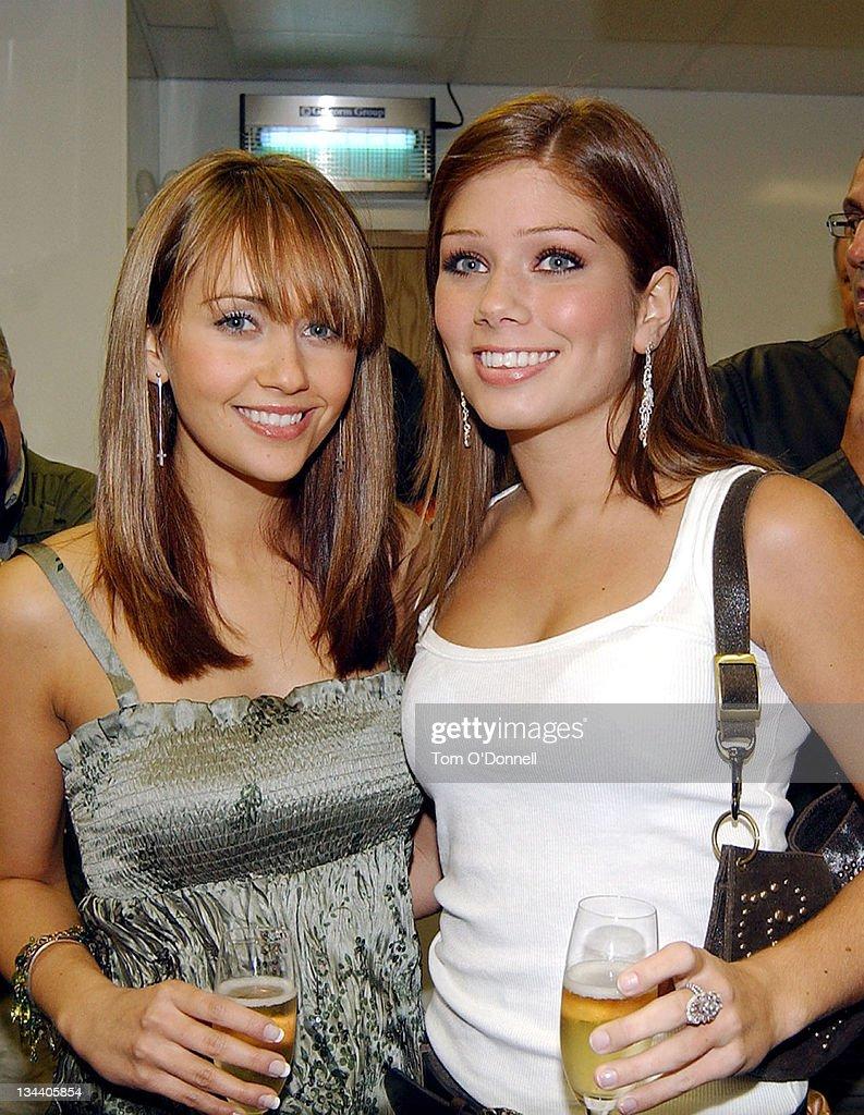 Celebrity Sightings - Coronation Street Stars Samia Ghadie and Nikki Sanderson In Dublin
