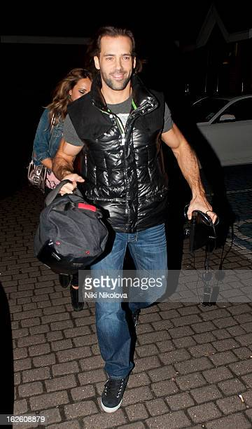 Samia Ghadie and Sylvain Longchambon sighting on February 24 2013 in London England