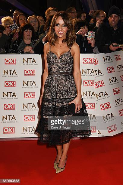 Samia Ghadie attends the National Television Awards at Cineworld 02 Arena on January 25 2017 in London England