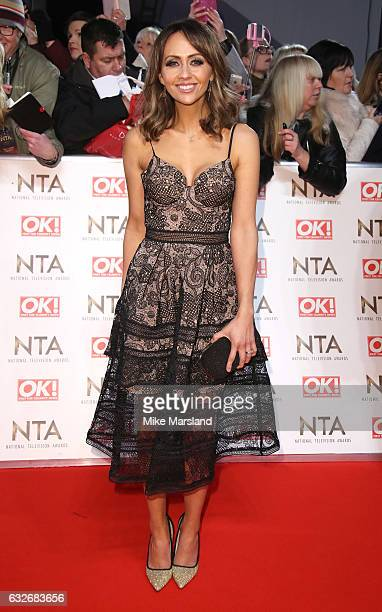 Samia Ghadie attends the National Television Awards at The O2 Arena on January 25 2017 in London England