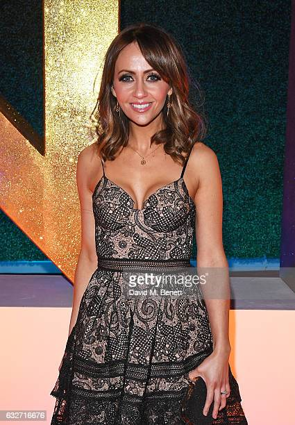 Samia Longchambon attends the National Television Awards on January 25 2017 in London United Kingdom