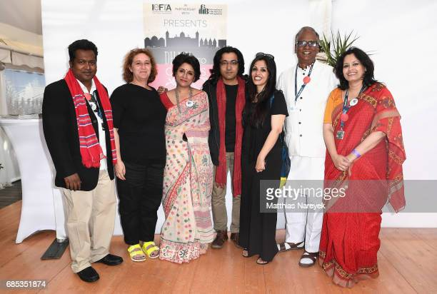 Samia Zaman Nasiruddin Yousuff and guests attend From Dhaka to Cannes A Celebration of Talent hosted by the International Emerging Film Talent...