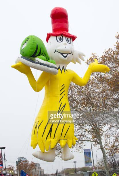 SamIAm/Green Eggs and Ham Ballon at the 91st Annual 6ABC IKEA Thanksgiving Day Parade on November 25 2010 in Philadelphia Pennsylvania